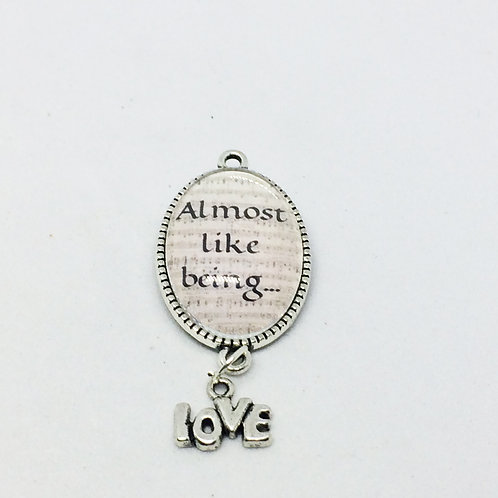Brigadoon 'Almost Like Being in Love' Pendant & Charm