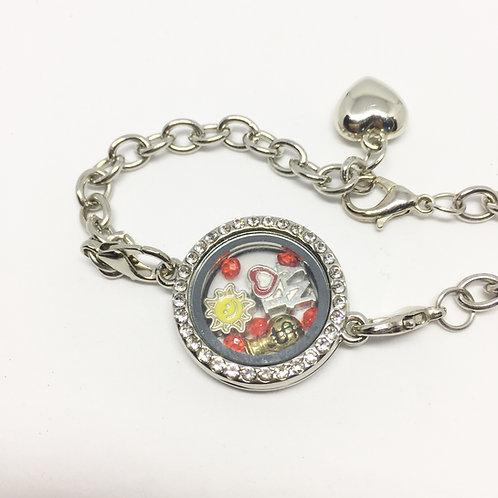 Annie Memory Locket Bracelet