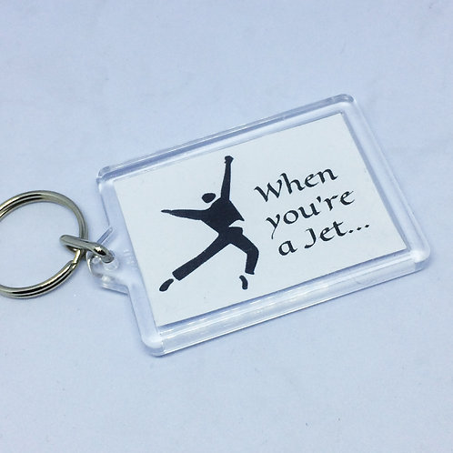 West Side Story 'When You're a Jet' Double Sided Keyring