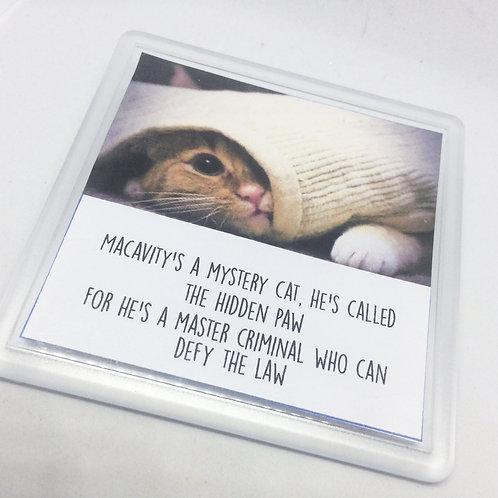 Cats 'Macavity' Coaster