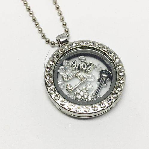 Sound of Music Memory Locket necklace