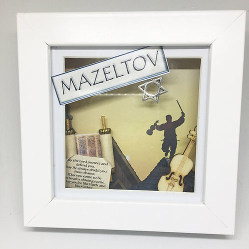 Fiddler on the Roof 3D Shadow Box