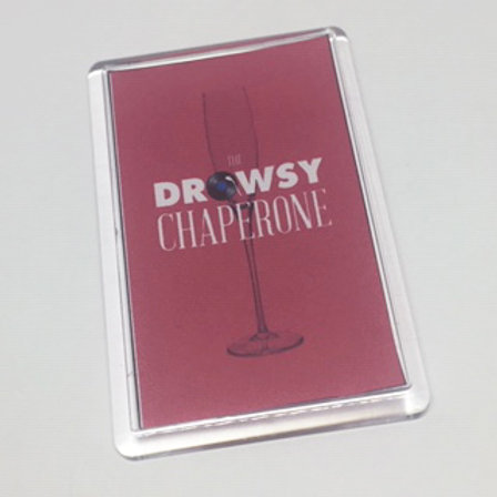 Drowsy Chaperone Fridge Magnet
