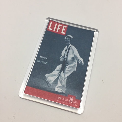 South Pacific - Life Cover Fridge Magnet