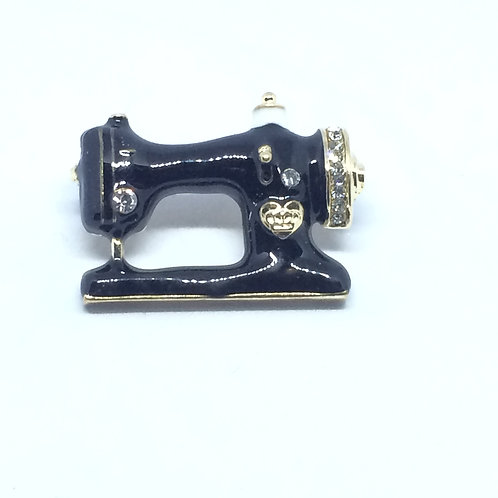 Sewing Machine Brooch