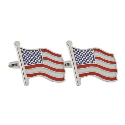 America Flag Cufflinks