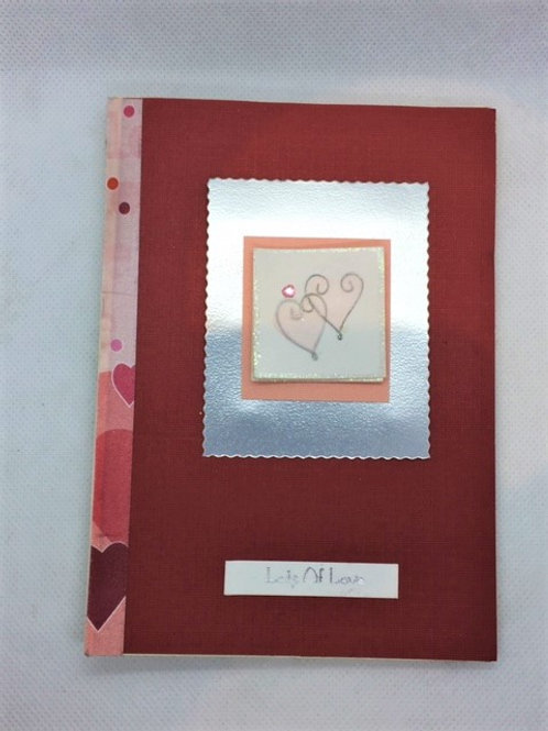 Shades of Red Lots of Love Valentine Card