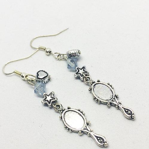 Mirror Drop earrings