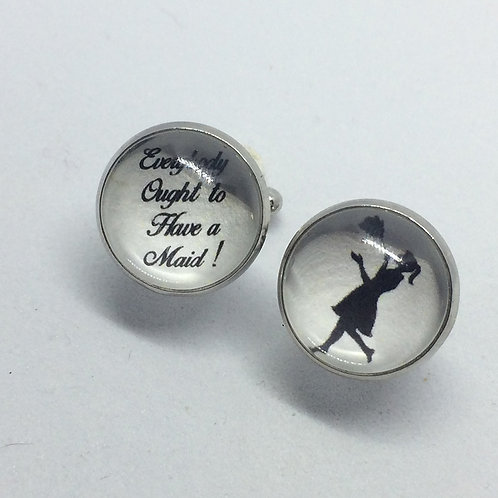 'Everybody Ought to Have a Maid' Cufflinks