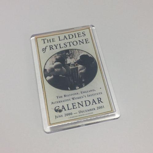 Calendar Girls Calendar Fridge Magnet