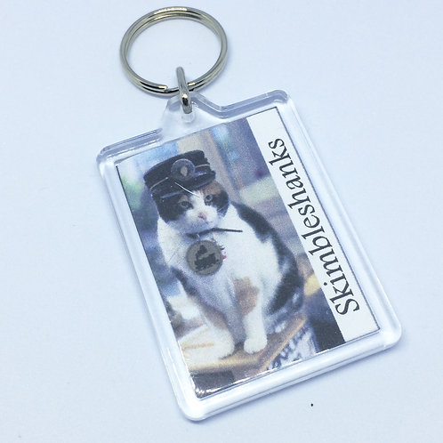 Cats Skimbleshanks Double Sided Keyring