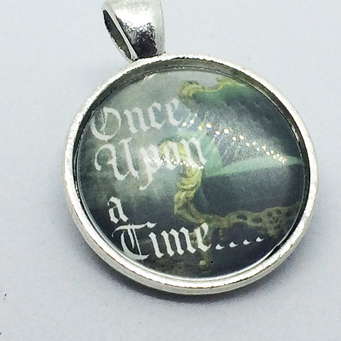 Once Upon a Time Round Pendant
