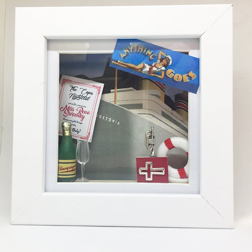Anything Goes 3D Shadow Box