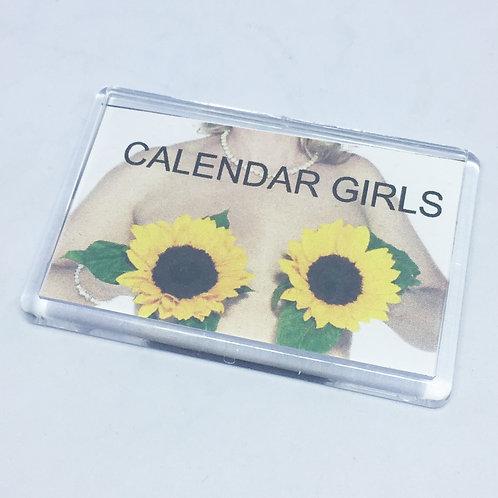 Calendar Girls Fridge Magnet