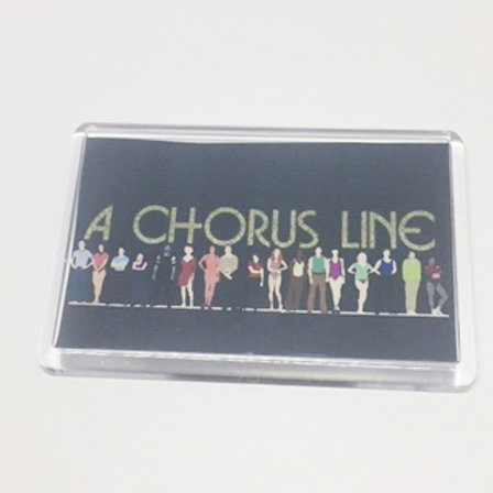 Chorusline Fridge Magnet
