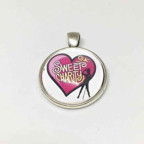 Sweet Charity Round Pendant