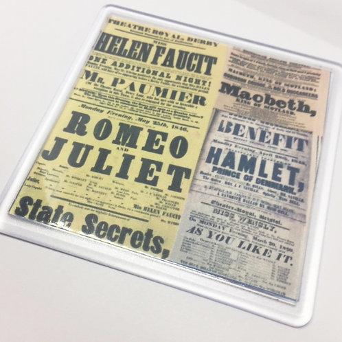 Shakespeares Plays Coaster
