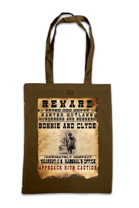 Bonnie & Clyde Poster Tote Bag