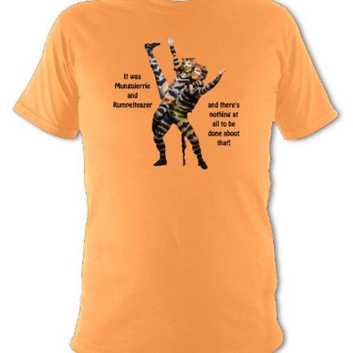 Cats Mungojerry & Rumpleteaser Unisex T-shirt