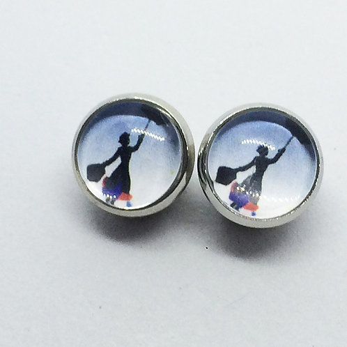 Mary Poppins Stud earrings