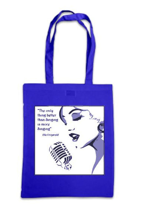 'Only thing better than Singing' Tote Bag