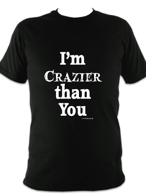 Addams Family Unisex Crazier than You T-shirt
