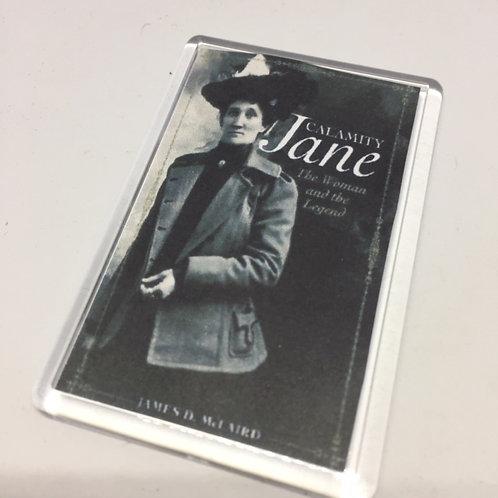 Calamity Jane Woman & Legend Fridge Magnet