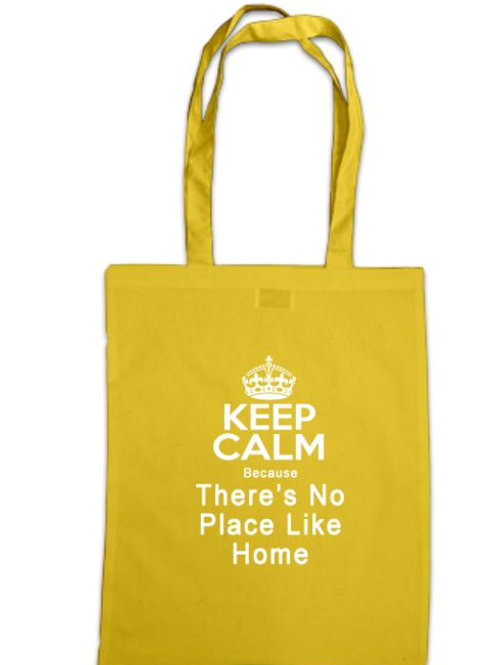 Wizard of Oz Keep Calm There's no Place like Home Tote Bag