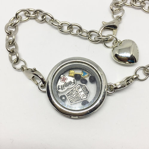 Addams Family Memory Locket bracelet