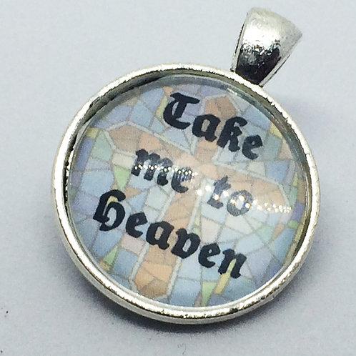 Sister Act 'Take Me to Heaven' Round pendant