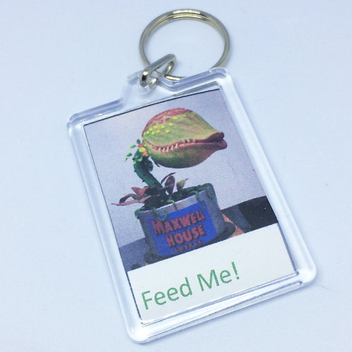 Little Shop of Horrors Audrey Double Sided Keyring
