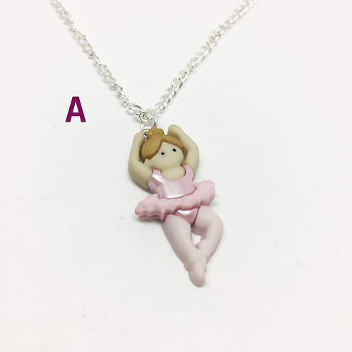 Ballerina Necklaces - Three Versions