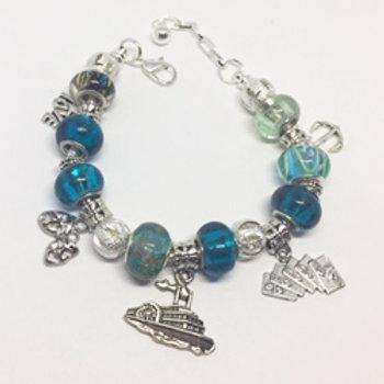 Show Boat Charm Bracelet