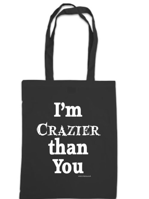 Addams Family Crazier than You Tote Bag
