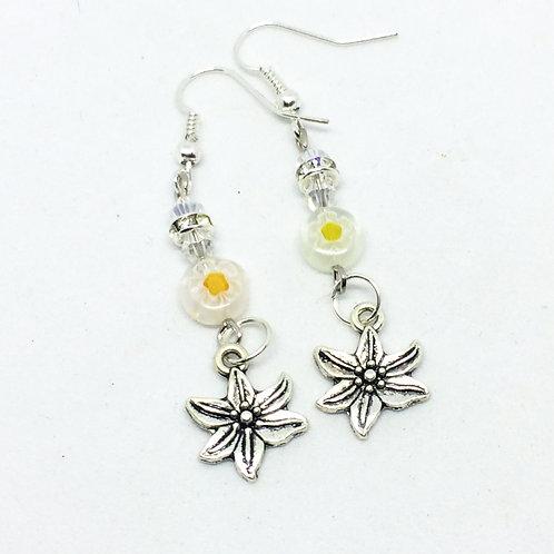 Edelweiss Drop earrings