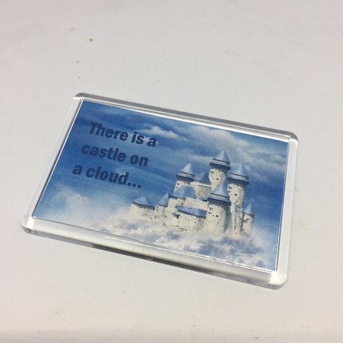 Les Miserables Castle on a Cloud Fridge Magnet
