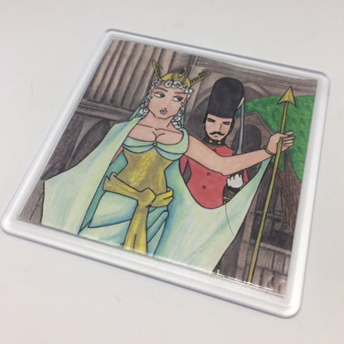 Iolanthe Fairy Queen and Guard Coaster