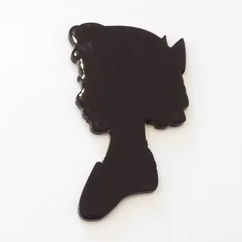 Peter Pan, Wendy Silhouette Lapel Pin