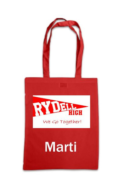 Grease Rydell High Personalised Tote Bag