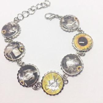 Calendar Girls Cabochon Bracelet