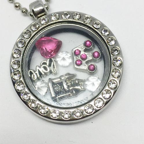 Camelot Memory Locket necklace