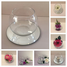 Small Fishbowl vases