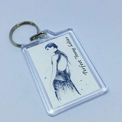 The Boyfriend -Perfect Young Ladies double sided Keyring