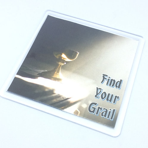 Spamalot Find Your Grail Coaster