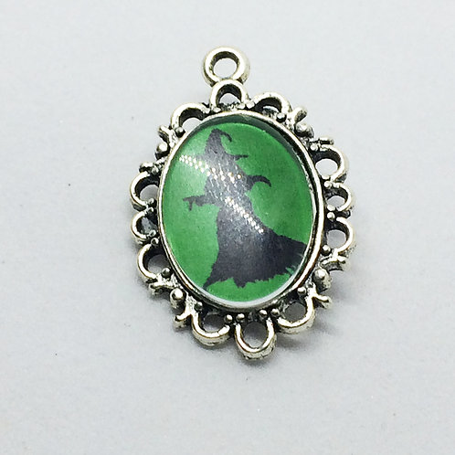 Wicked Witch Filigree Pendant