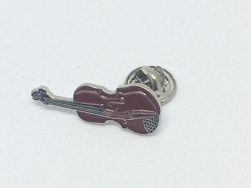 Violin or Fiddle Lapel Pin