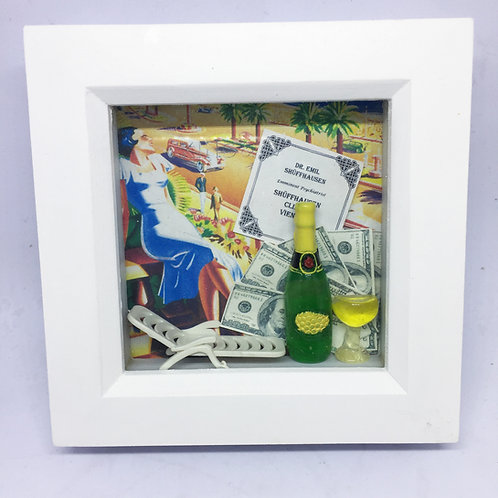 Dirty Rotten Scoundrels 3D shadow box