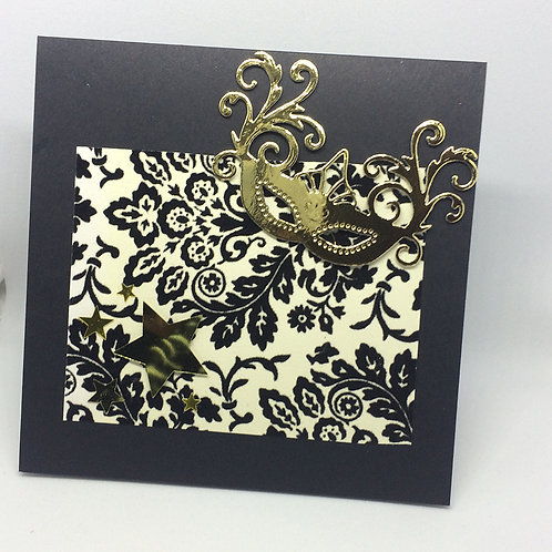 Phantom of the Opera - Masquerade Card