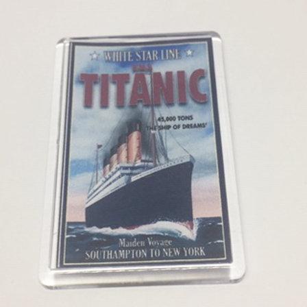Titanic Poster Fridge Magnet