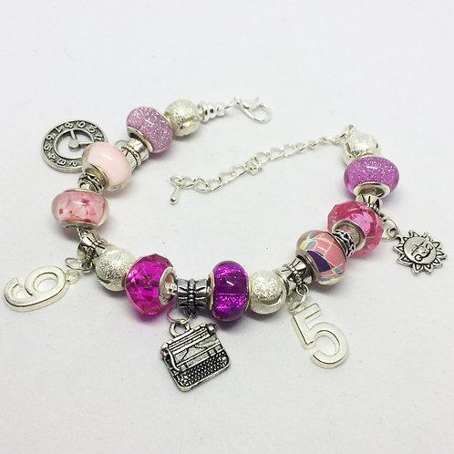 9 to 5 Charm Bracelet